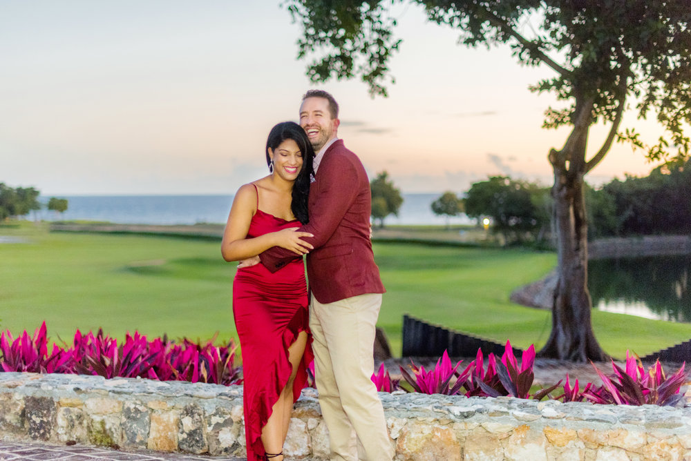Our Rehearsal Dinner at Casa De Campo ; photo by Mikkel Paige