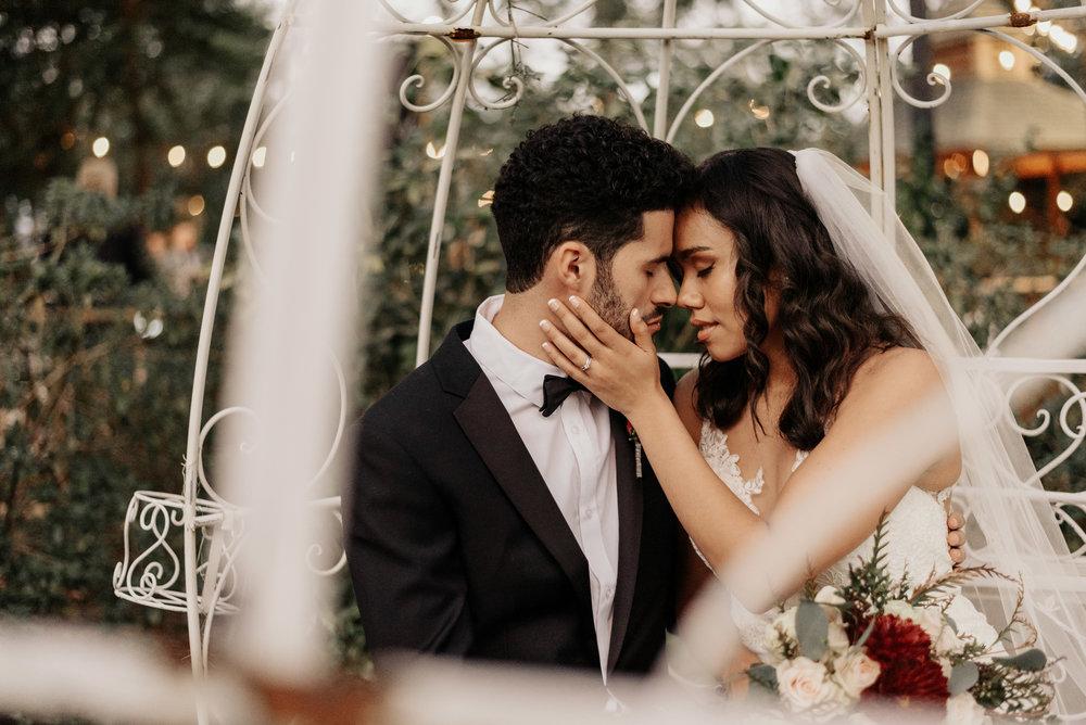 Harmony Gardens Tropical Wedding Garden - Earthy Garden Wedding - Wedding Photography - Kirstie and AJ - De Leon Springs, Florida