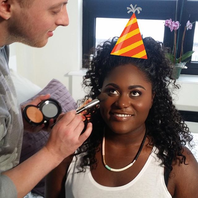@daniebb3: Happy Birthday to an amazing human and my favorite muse! You are beautiful inside and out. Sending you all the love and light! ❤️❤️❤️#daniellebrooks #happybirthday #voiceofthecurves