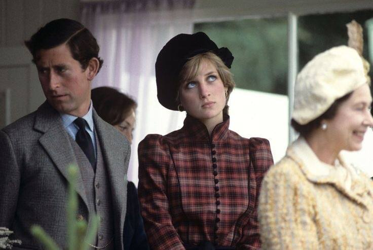 An old photo of Princess Diana that James sent to me, no idea where it came from, but it's cool.