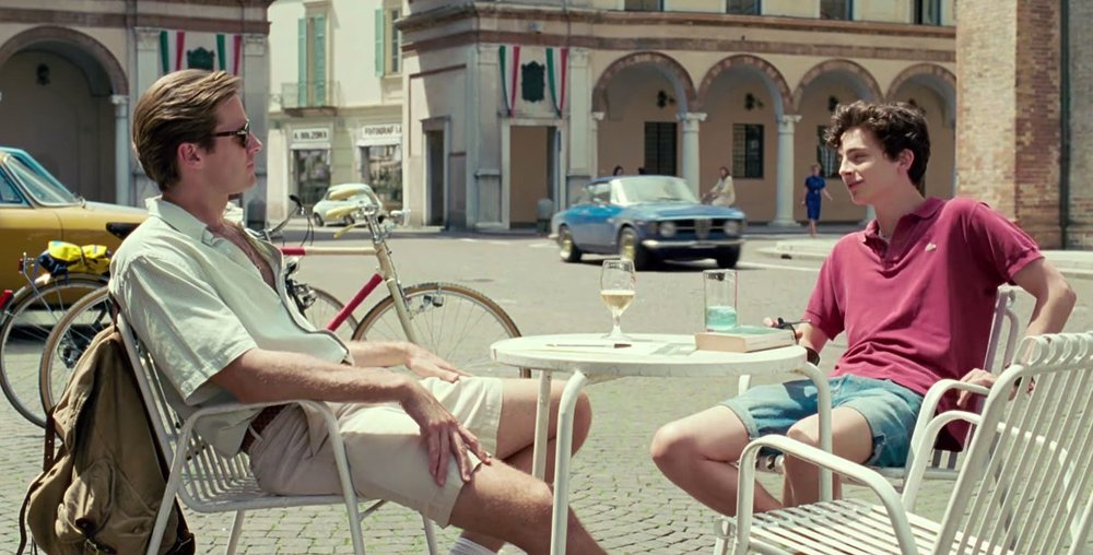Screenshot from Call Me By Your Name.
