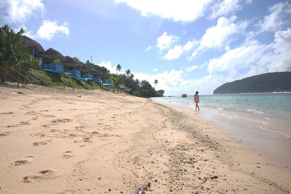 Lalomanu Beach in Upolu.