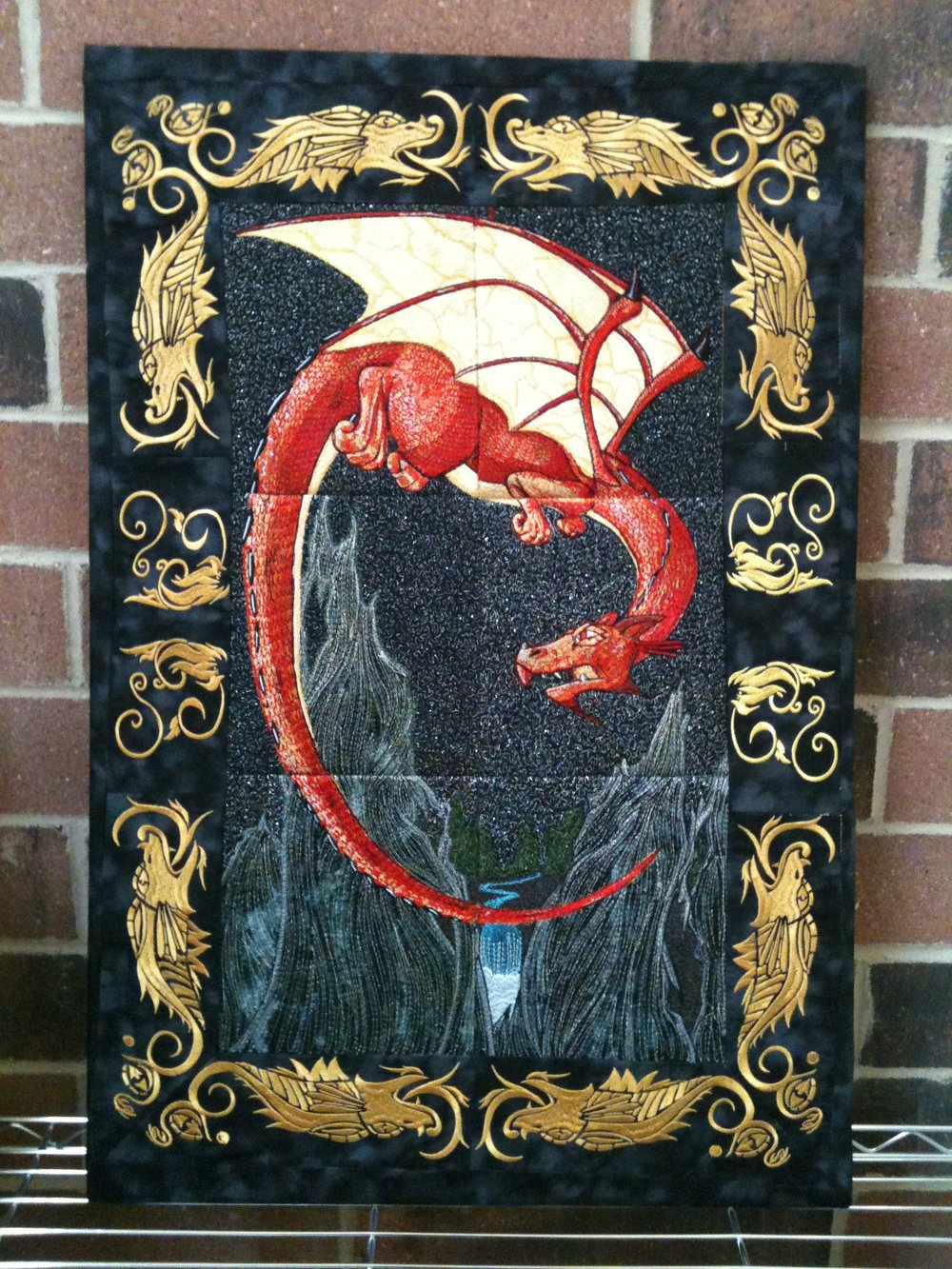 Dragon Embroidery Wallhanging.JPG
