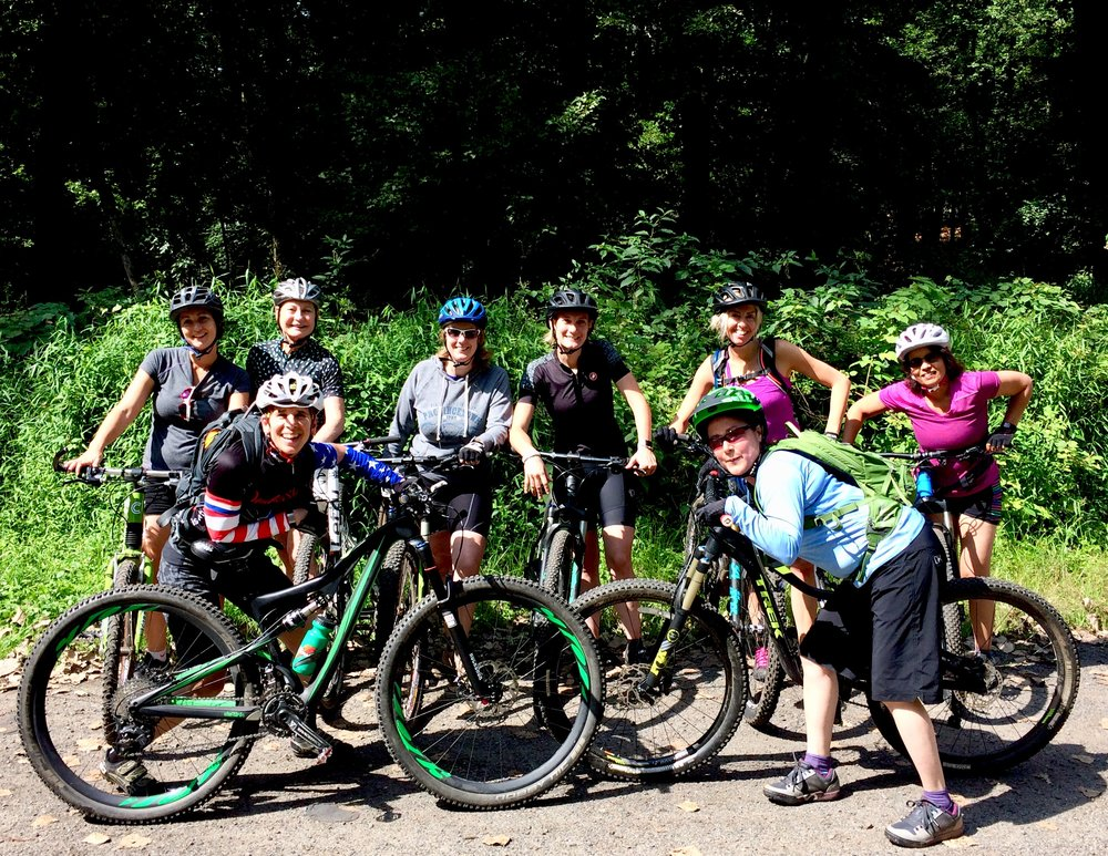 Women's Mounatin Biking