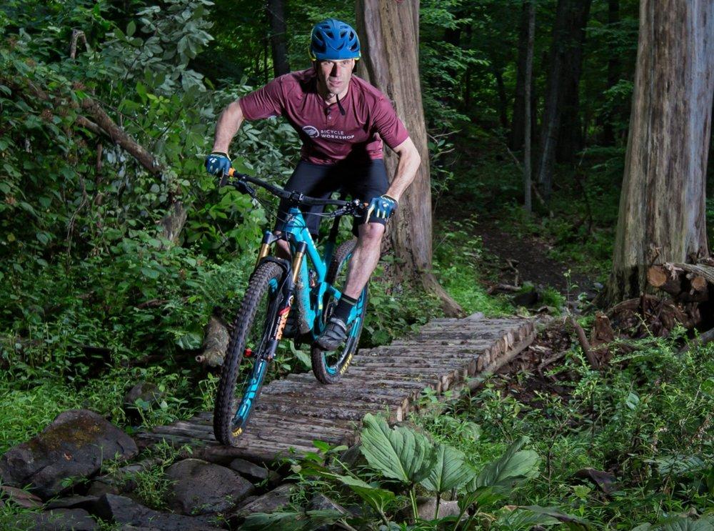 Yeti Cycles SB5.5, Fox Shocks, Club Ride Apparel, Troy Lee Designs, Mountain Biking