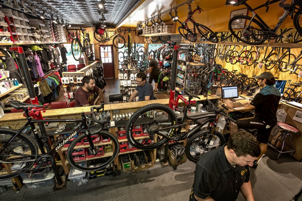 Bicycle Repairs, Alchemy Bicycles, Ibis Bicycles, Club Ride Apparel
