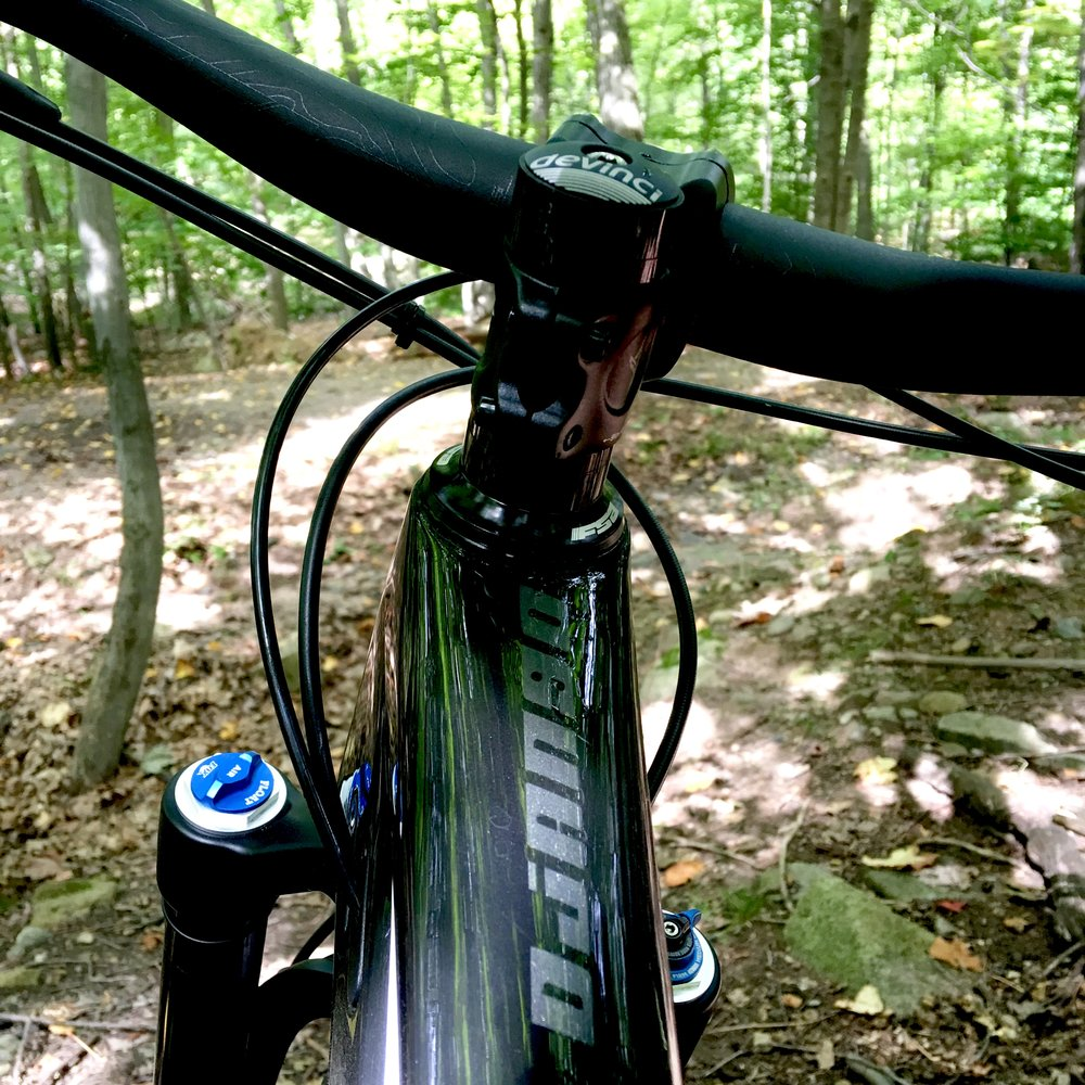 The Devinci Django Steers its way down any trail with confidence