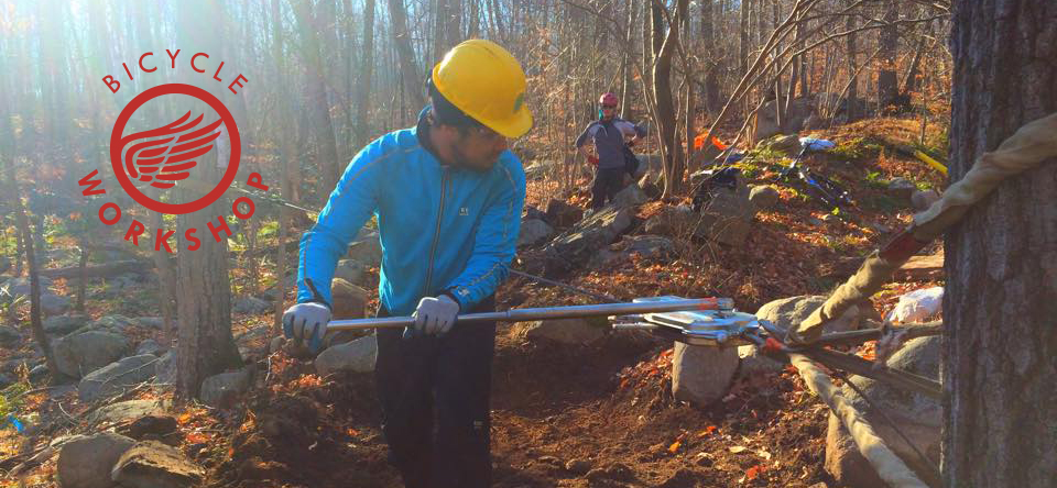 Building Trails in Sterling Forest State Park
