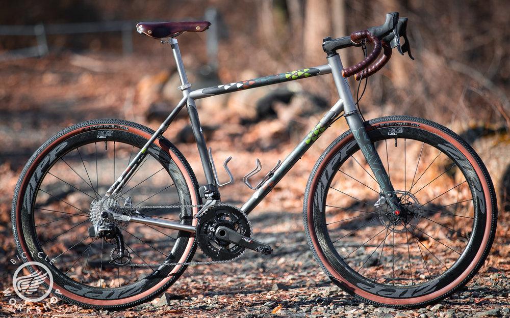 Seven Cycles Evergreen Pro - Custom mixed terrain
