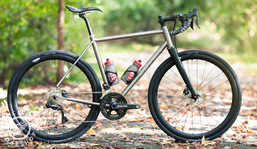 Seven Cycles Evergreen SLX - Titanium gravel bike