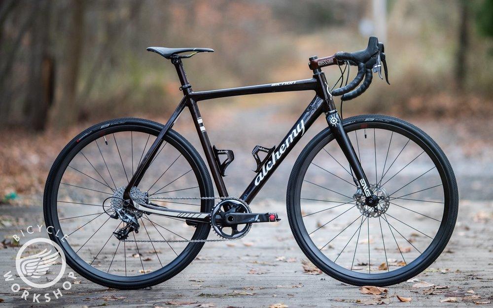 Alchemy Bicycles Aithon - Custom carbon gravel bike