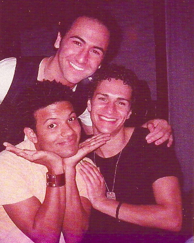 #FlashbackFriday to the times of #ZannaDont at @SpeakEasyStage with Jaime Cepero (@papimagic) and DJ Petrosino (@djacts423)! I'm pretty sure I have some kind of nail polish on. Some things don't change! 💙 • • • #2007 #WeWereKids #Theatre #Boston #MusicalTheatre #TimeFlies #TenYearsAgo #LikeForLike #Like4Like #PicOfTheDay #InstaPic