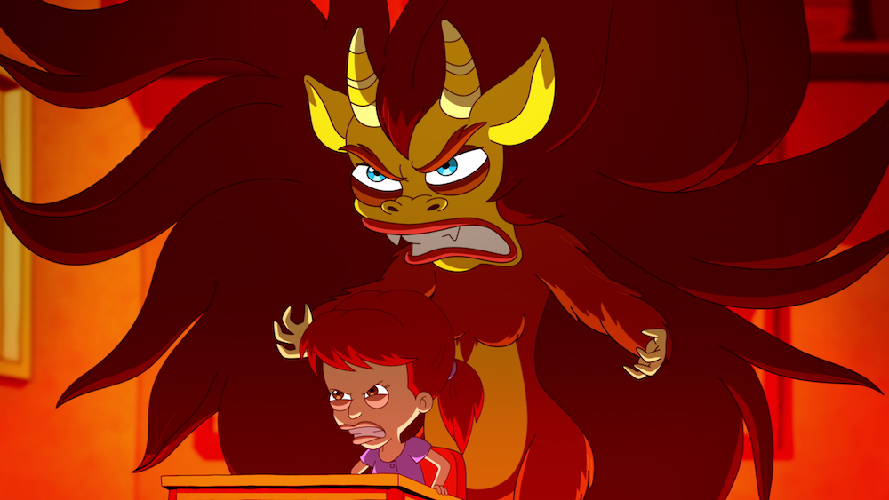 "The Hormone Monster from Netflix's ""Big Mouth"". Also, It Me."