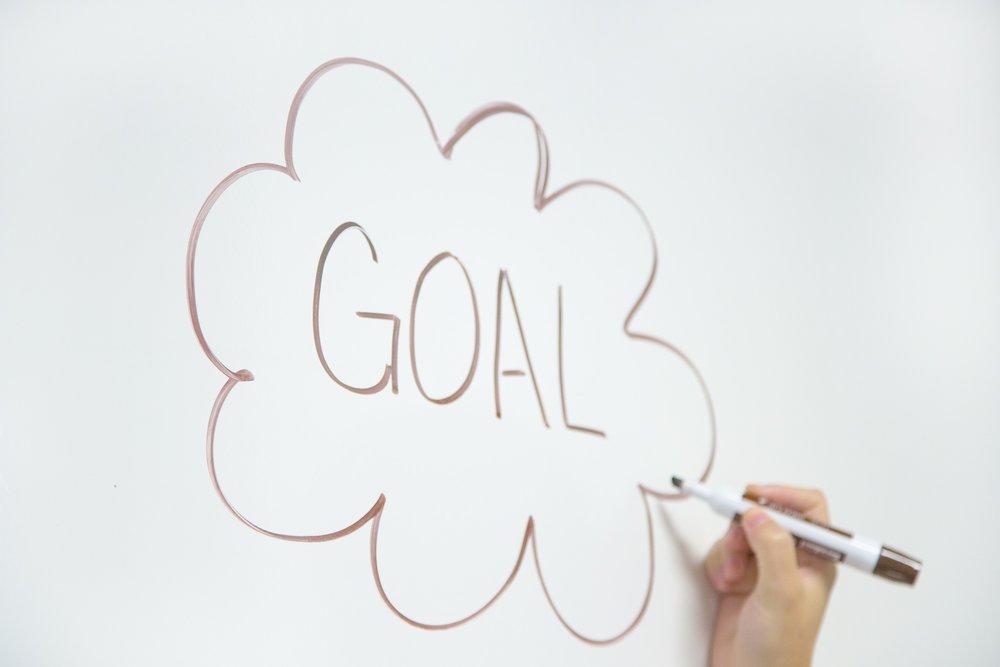 Goals on White Board