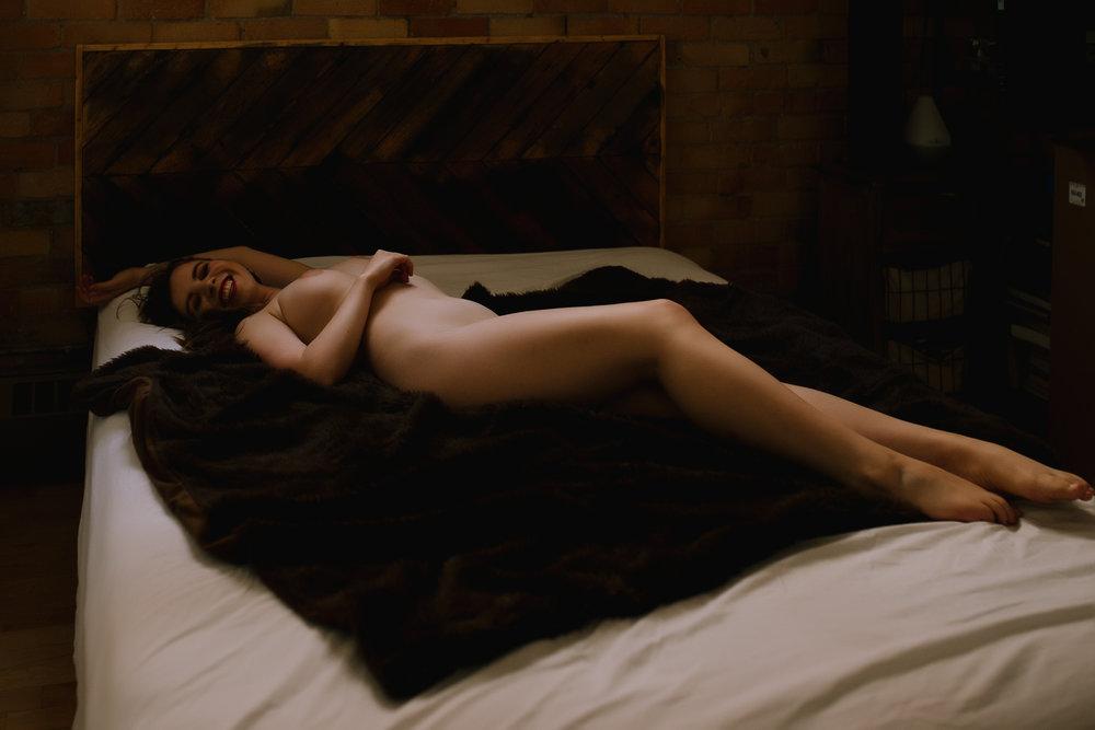 Fine Nude Art Intimate Portrait Calgary Boudoir