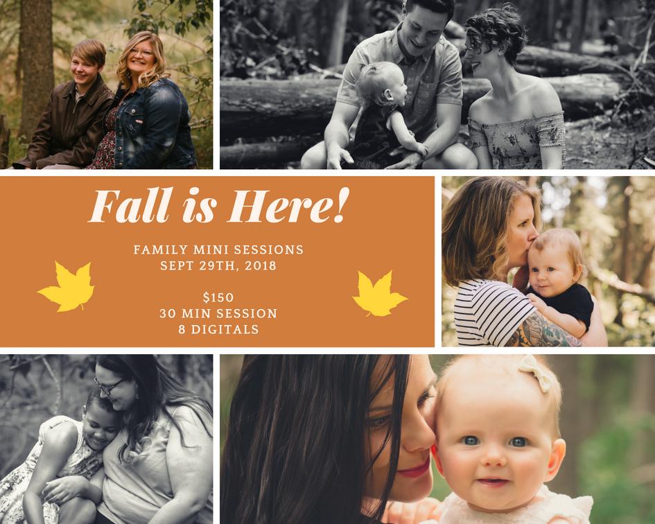Calgary Family Fall Photo Sessions
