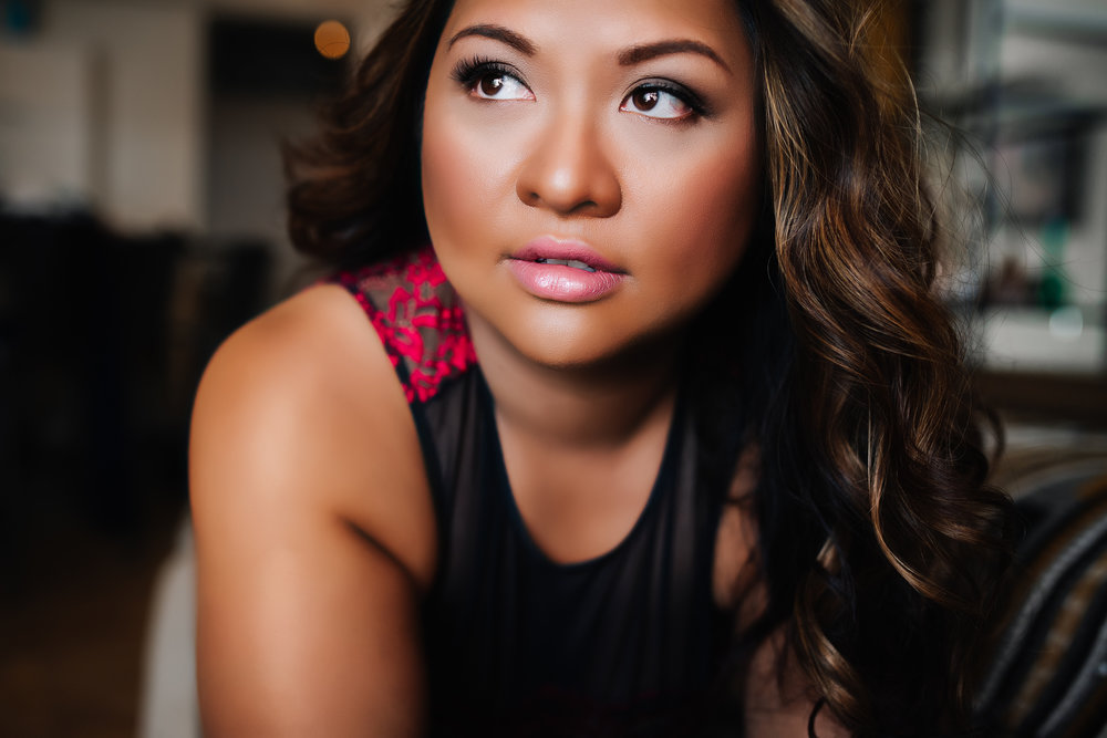 Artist Shannon Smith, Calgary Boudoir Photographer, Ethnic, Filipino, Dark skin