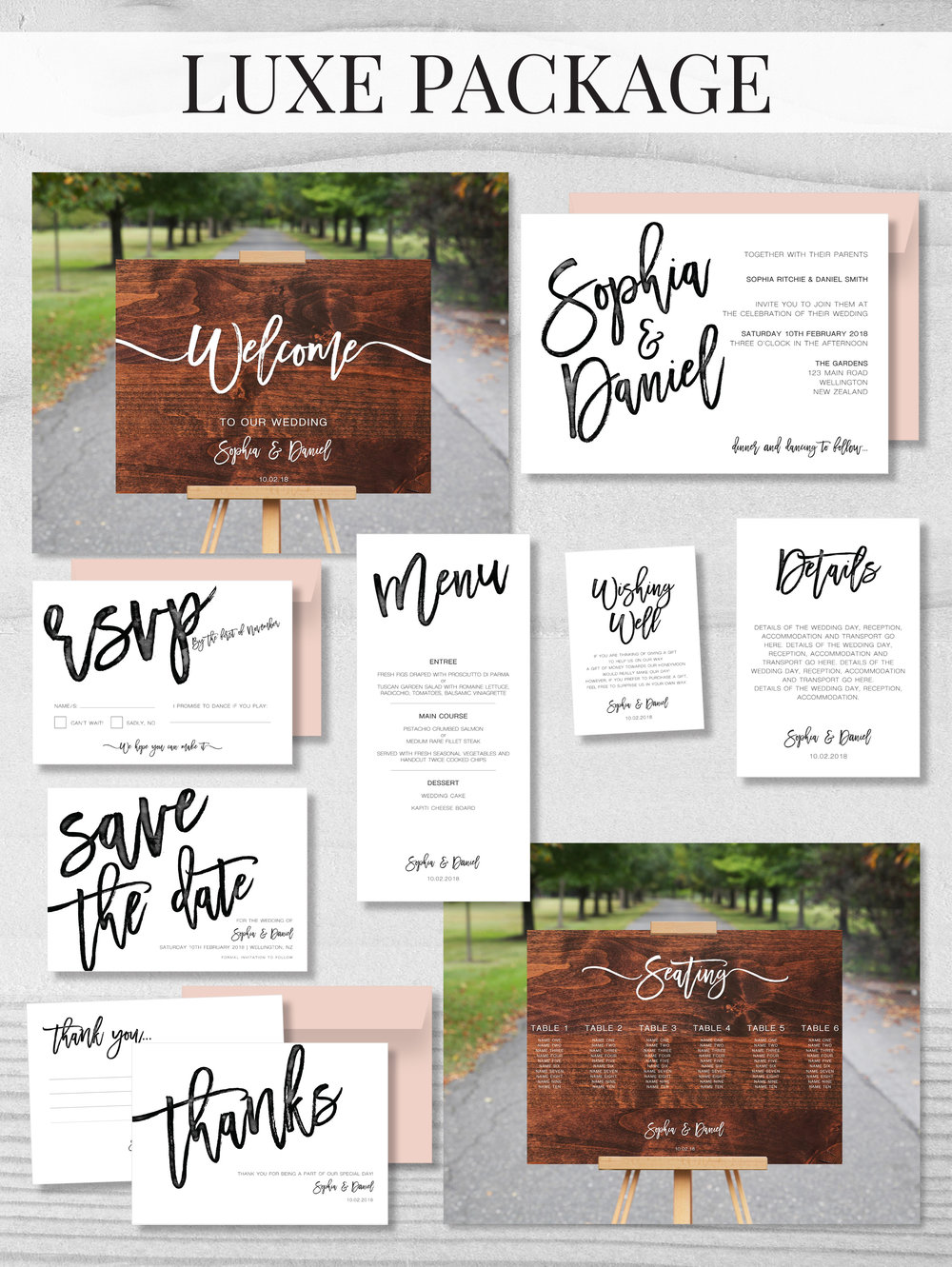 wedding stationery packages sweet designs