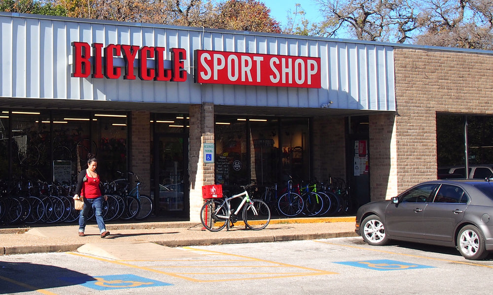 Bicycle Sport Shop : Guadalupe St. Austin, TX
