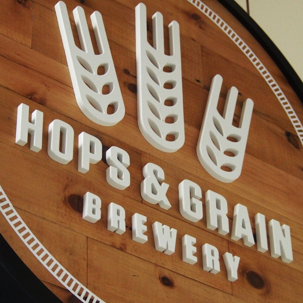Hops and Grain sign package