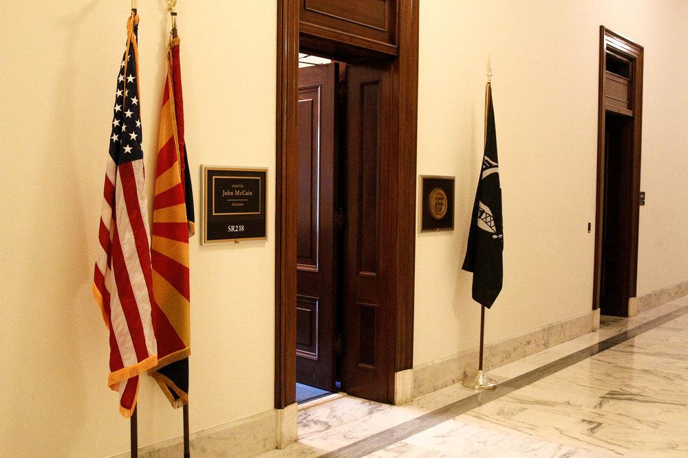 Vacant office of Sen. John McCain