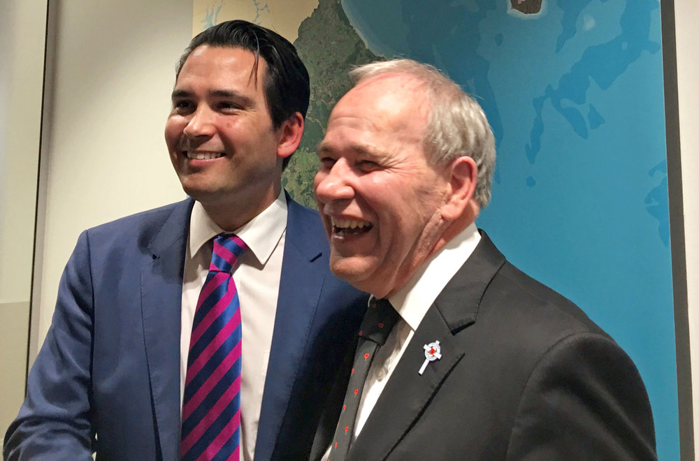 EXCELLENT NEWS: Minister of Transport , Simon Bridges and Mayor Len Brown