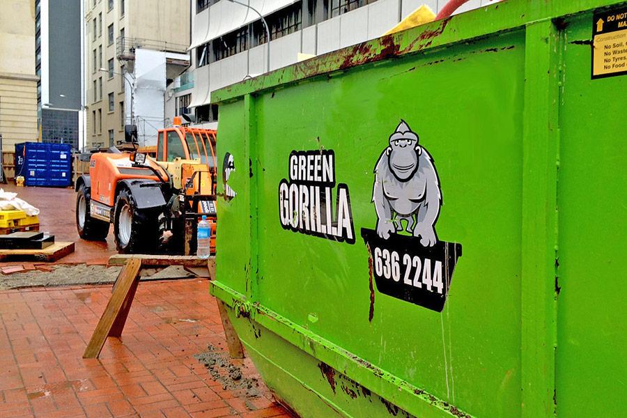 Green Gorilla on site