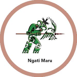 Logo of CRL Mana Whenua members Ngatu Maru
