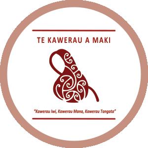 Logo of CRL Mana Whenua members Te Kawerau a maki