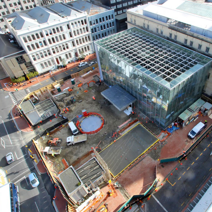 CONSTRUCTION CONTRACT 1 - Britomart Temporary Station Entrance, & Lower Queen Street Tunnels