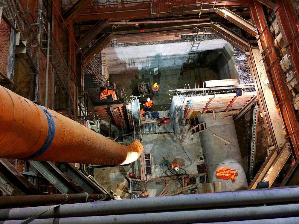 The CRL shaft