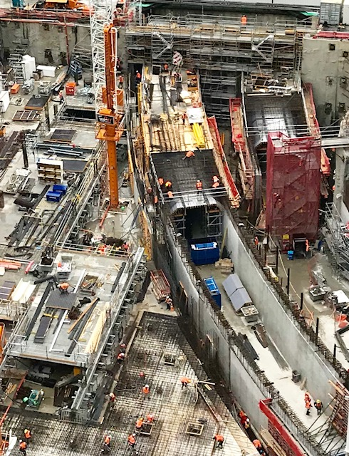Commercial Bay tunnel construction