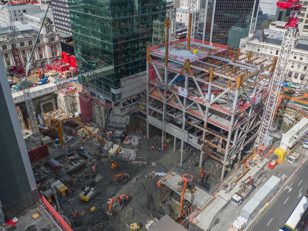 Commercial Bay/ Lower Queen St construciton