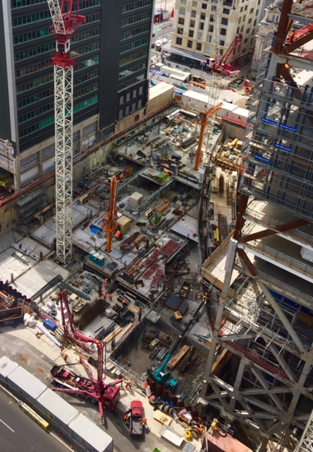 Construction of the Commercial Bay CRL tunnels