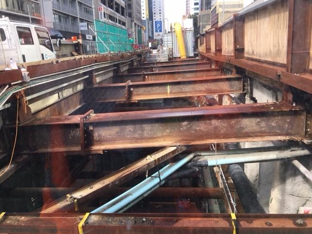 CRL construction Albert Street March 2018