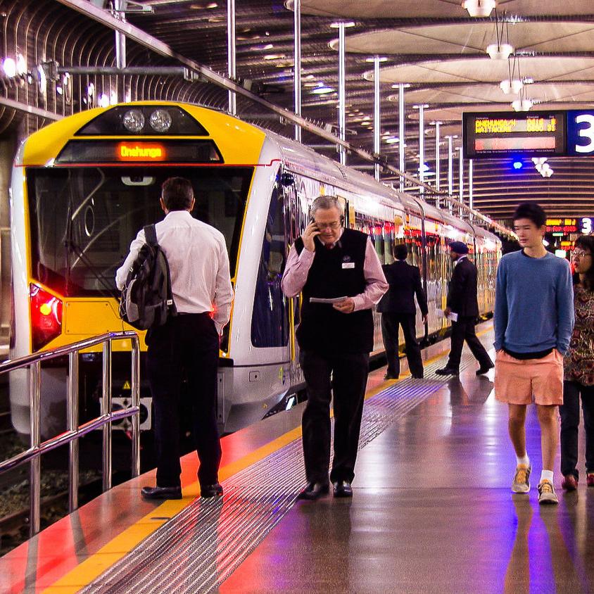 CITY RAIL LINK DESIGNS -BRITOMART STATION -