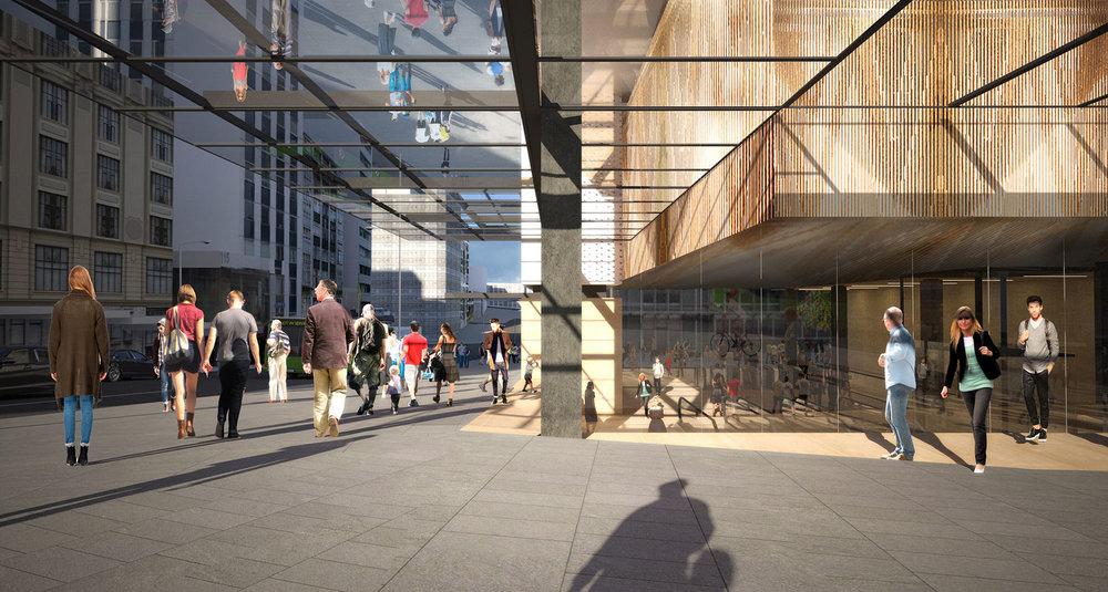 CRL's Aotea Station concept design