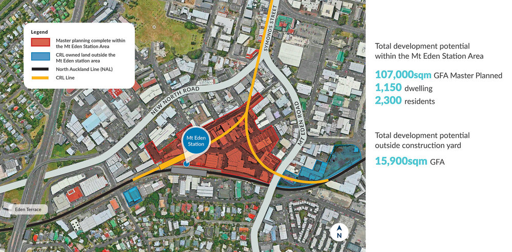 Mt Eden Urban Realm and new road network