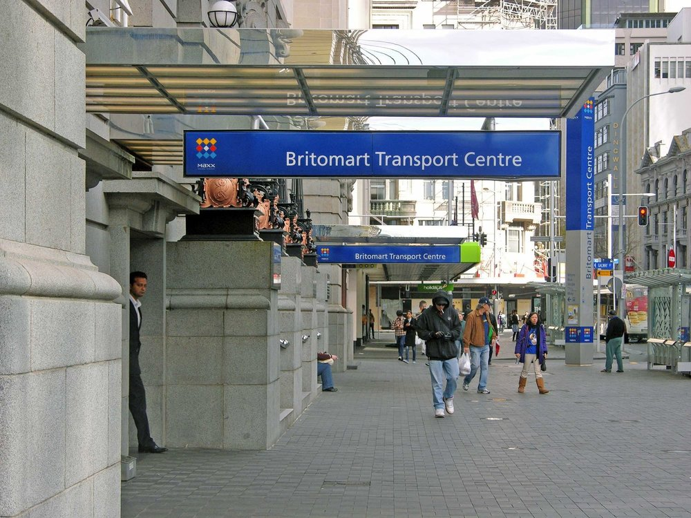FAMILIAR: The Queen Street entrance to Britomart before it closed for CRL construction works