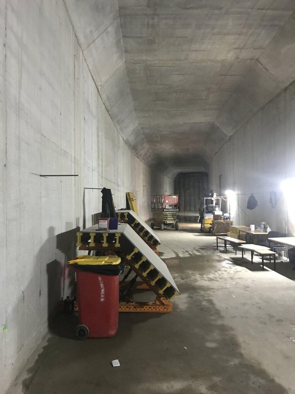 Precinct inside tunnel 9 April 2.jpg