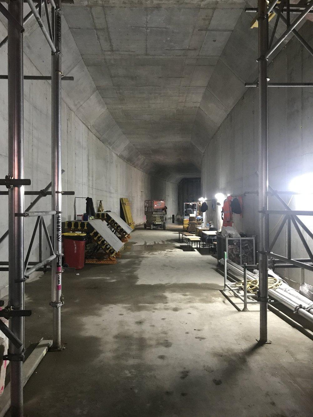 Precinct inside tunnel 9 April.jpg