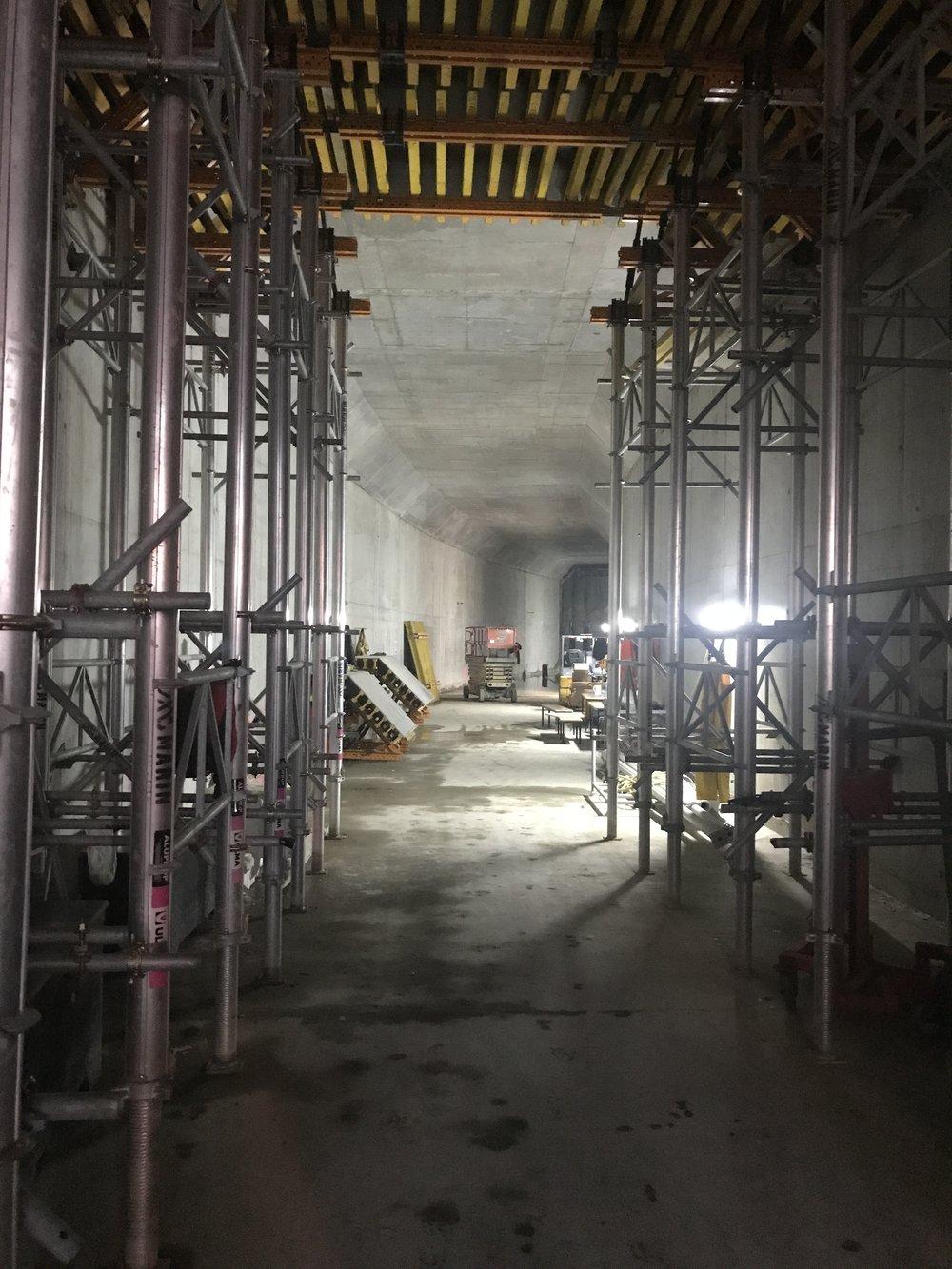Precinct inside tunnel 9 April 4.jpg