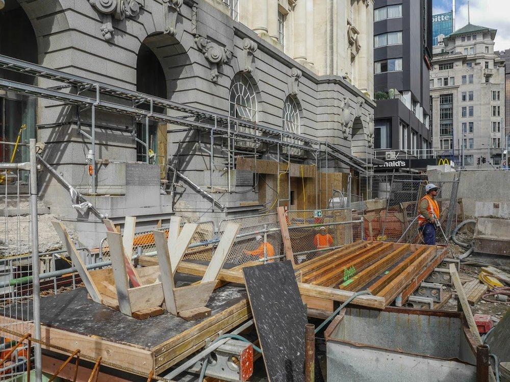 CRL construction Lower Queen St March 2018
