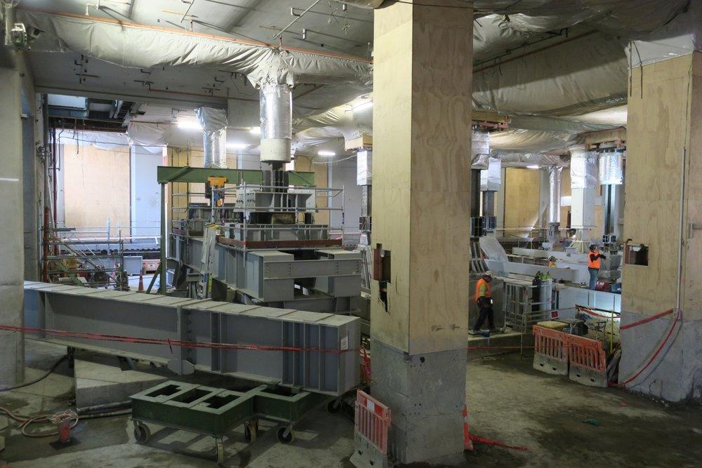 CPO Underpinning beam installed  4 April 2018.JPG