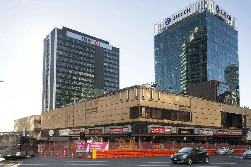 DEMOLITION: After 41 years, the Downtown Shopping Centre was demolished late 2016