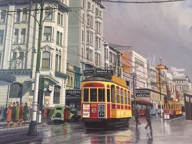 Auckland electric trams era