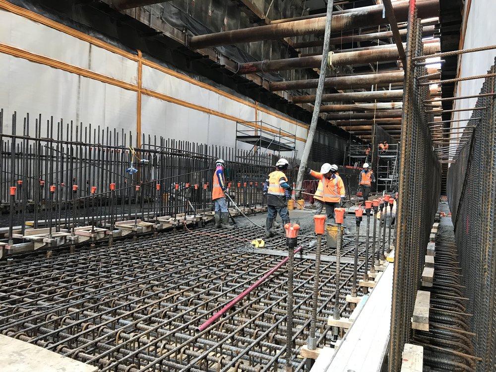 CRL construction Albert Street May 2018