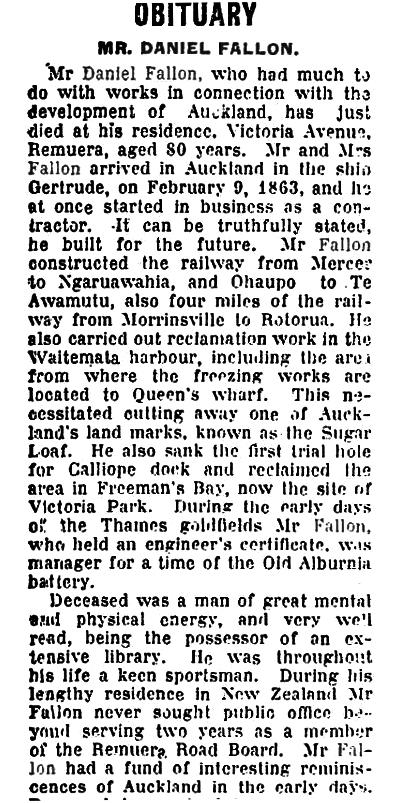 Auckland Star 28 September 1920