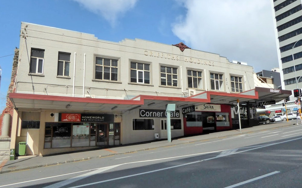 GRIFFITHS: This stood for about 80 years on the corner of Mayoral Drive and Wellesley Street before being demolished and will be the site of the new Aotea Station