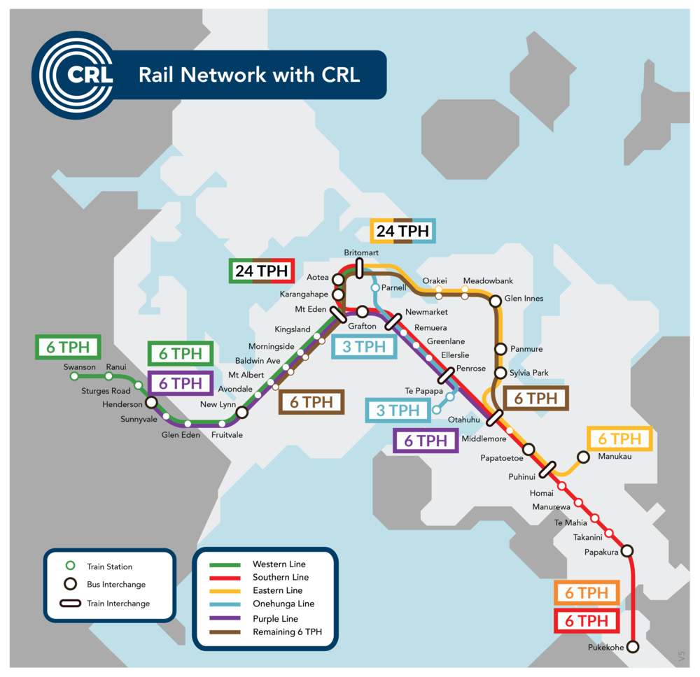 Rail Network with CRL